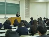 佐分副学長のミニ講義