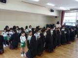 講義体験:附属幼稚園で体験実習