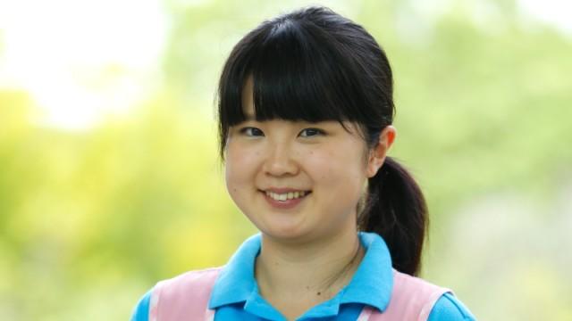 名古屋経済大学 短期大学部 保育科2年 小林明子さん