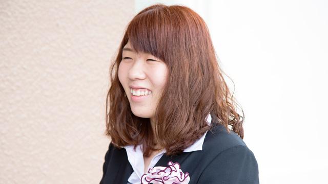 小栗 希美佳さん(人間生活科学部 管理栄養学科)