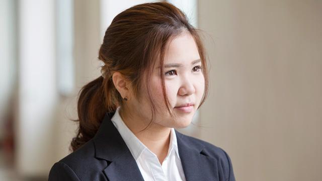 大城 麻夢さん(人間生活科学部 管理栄養学科)
