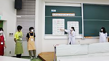 模擬栄養教育の実践発表
