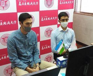 「日本の大学によるオンライン説明会 in Uzbekistanに参加しました」